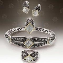 Supunnahong Classic Silver and Gold Diamond Jewelry