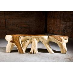 Acacia Solid Root Console Tables
