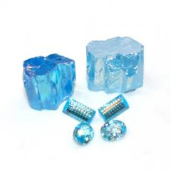 Cubic Zirconia Blue Topaz