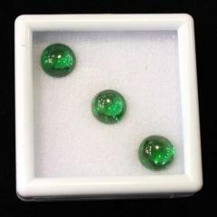 Cabochon Emeralds