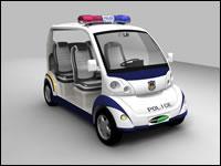Police Eco friendly car