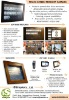 Interactive touch screen product catalog