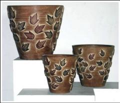 Set of flower pots Trv- 8068