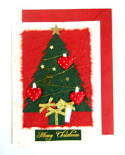 Christmas Cards Mulberry Paper