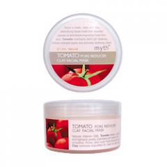 Tomato pore reducer clay facial mask
