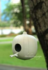 Ceramic bird house