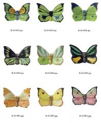 Butterfly magnet, wall decoration B.10