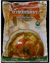 Green Curry - Nittaya Thai Curry Brand