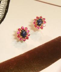 The sapphire earrings 2001