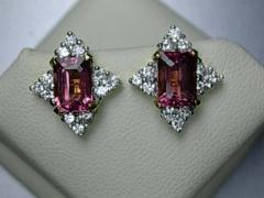 The semi-precious stone e. with diamond 2014