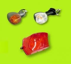 Motorcycle signal lamp