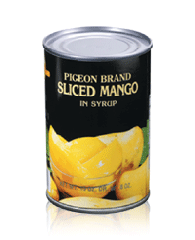 Sliced Mango in Syrup