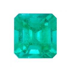 Elegant Colombian Emerald Stone