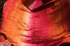 100% Thai Silk Cold Dyed Scarves