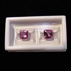 Princess-Cut Sapphire Stones