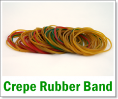 Crepe Rubber Band