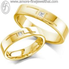 Wedding Ring Flat ring Amore Comfort Fit Design