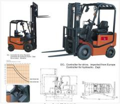 Battery Forklift FE4F16/18(AC)