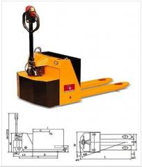 Semi-Electric Pallet Truck SE series
