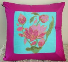 "Cushion cover ""Lotus"" Ref :"