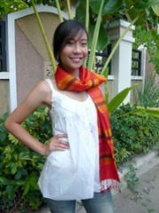 Thai Silk Scarves - Khit Pattern