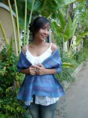 Thai Silk Scarves - Wide Stripe