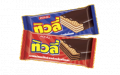 Chocolate coated wafer