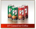 D7 Canned Ice Coffee