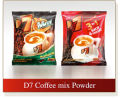 D7 Coffee mix Powder