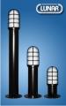 SC620. Bollard: Aluminum. Grid Cover - Large Size