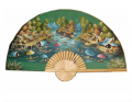 Rayon Folding Fan With Painting