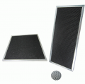 Carbon filter with aluminum Frame