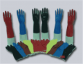 PVC Flock Gloves