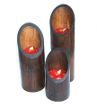 Aromatic Candle in Bamboo Set 1