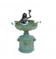 Mermaid With Lotus Fountain
