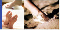 Products of foot treatment