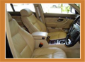 Automotive upholstery leather