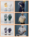 Cotton gloves for safety. Safety Gloves.