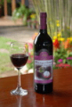 Mangosteen wine