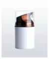30 g round shape plastic airless bottle.