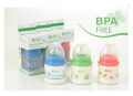 5oz BPA-Free Wide Neck Baby Bottle, Happy Nature