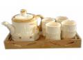 Tea set japanese style