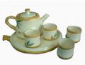Tea set bamboo design