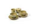 Macchiato Coffee Cup + Saucer Set (8 Oz. / 4 Oz.)