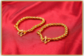 Gold anklet for new born