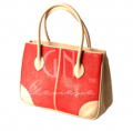Handbag Polished Red