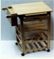 Trolley Kitchen Wood FR92A