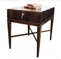 Fluted Side Table, Rectangular
