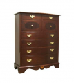 Elaborate Chest of Eight Drawers