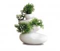 Wise rock vase